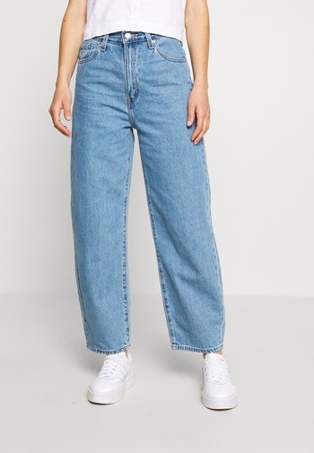 BALLOON LEG - Relaxed fit jeans - light-blue-denim