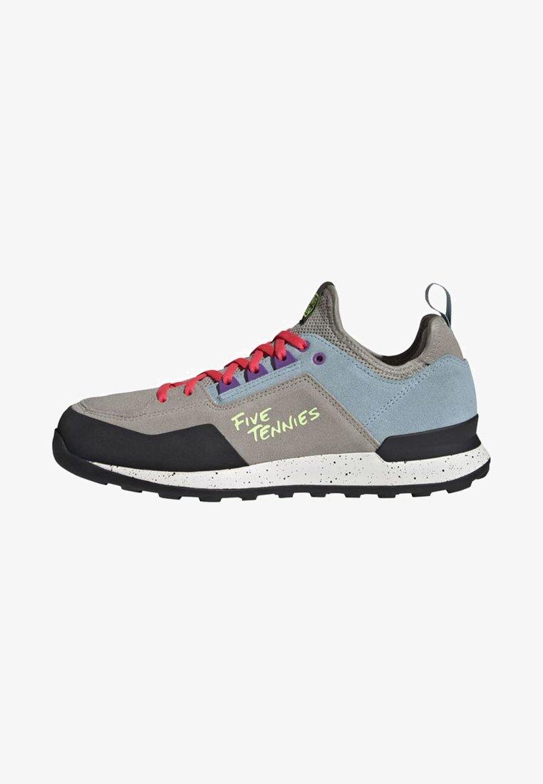 adidas Performance - FIVE TENNIE SHOES - Hiking shoes - brown/grey/purple