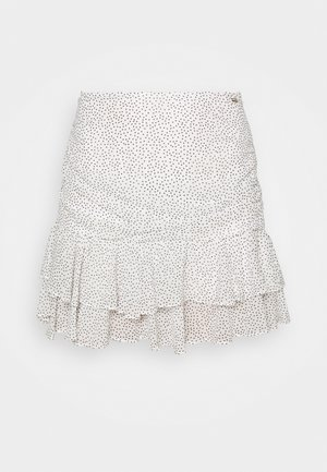 PASQUALINA SKIRT - Mini skirt -  art white