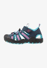 Kamik - CRAB - Walking sandals - navy teal/marine bleu sarcelle - 0