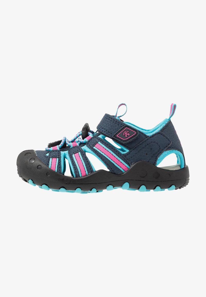 Kamik - CRAB - Walking sandals - navy teal/marine bleu sarcelle