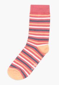 Ewers - PUNKTE/UNI/RINGEL 6 PACK - Socks - blue/pink - 1