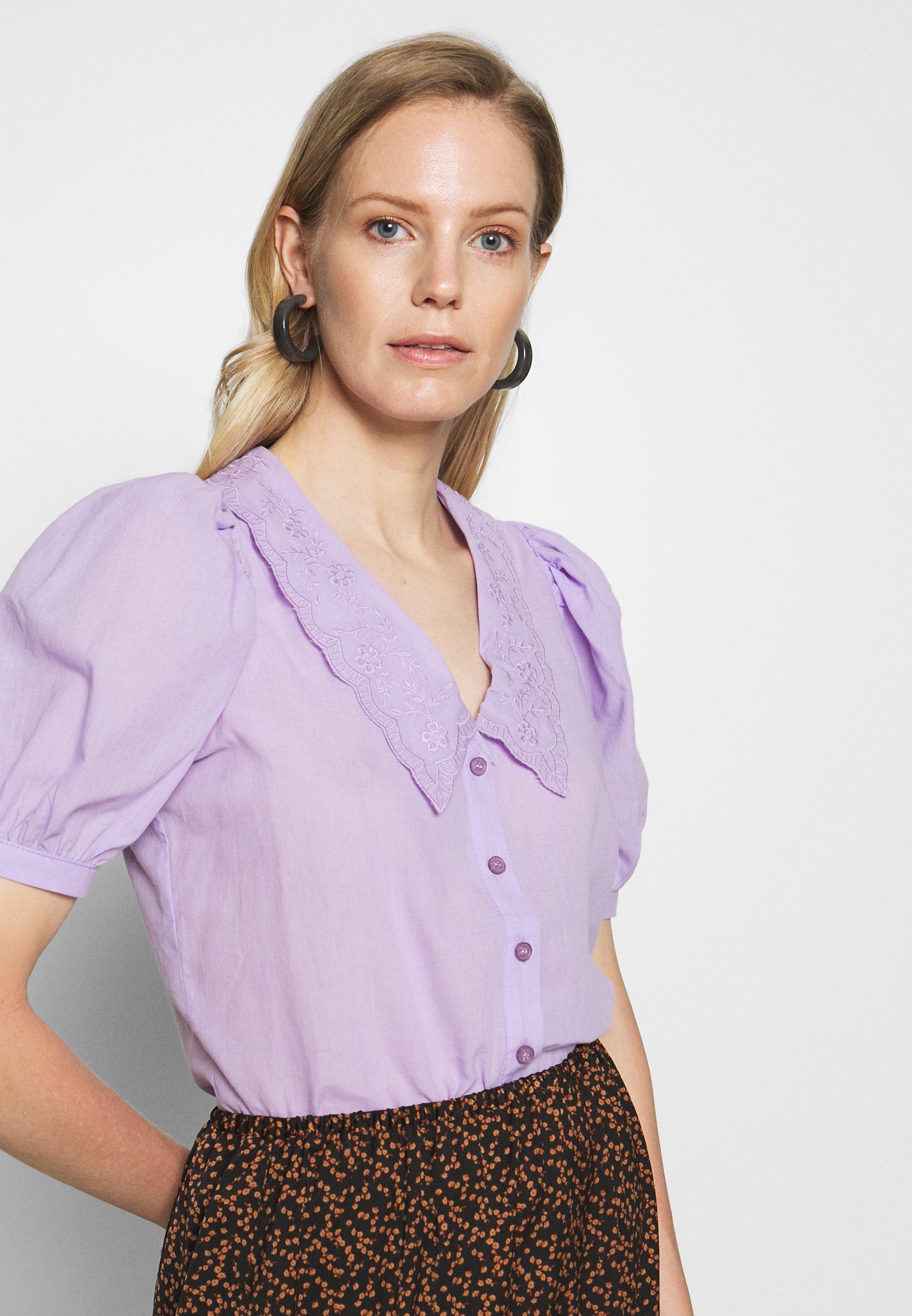 Trendyol TWOSS Camisa lila Zalando.es