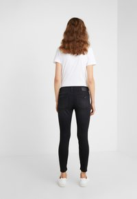 DRYKORN - NEED - Jeansy Skinny Fit - black wahed - 2