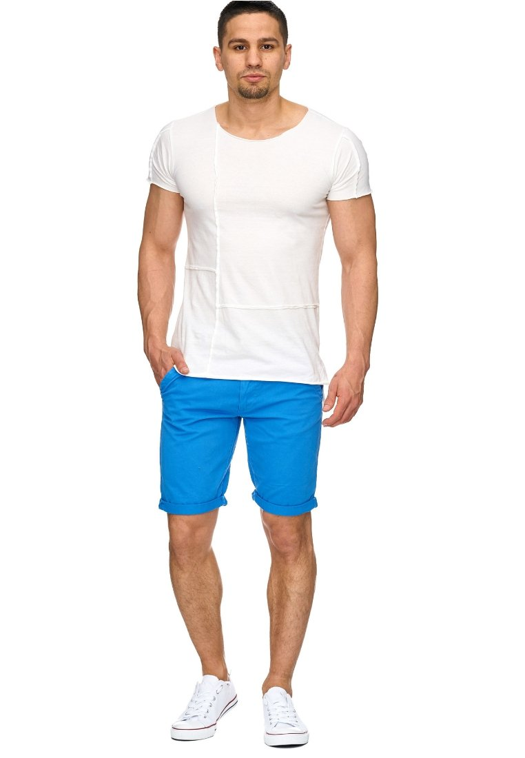 INDICODE JEANS - CASUAL FIT - Shorts - lightblue
