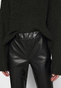 Freaky Nation - VEGAN PANTS - Trousers - black - 4