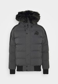 Kings Will Dream - PUFFER BOMBER JACKET - Winterjas - charcoal