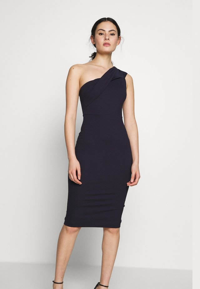 JUST MAYBE DRESS - Shift dress - navy