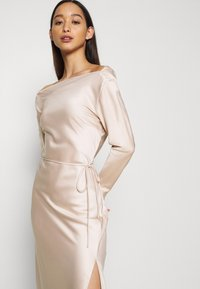 Glamorous - STUDIO COWL MIDAXI DRESS - Cocktailkjole - champagne - 3