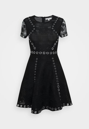 RANCH - Day dress - noir