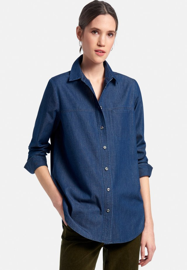 Camicia - dark blue denim