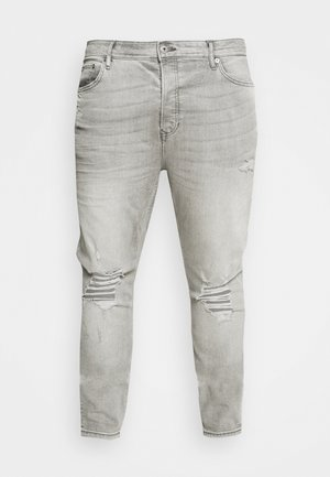 DISTRESS - Slim fit jeans - grey