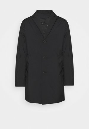 WOLGER TECH PADDED COAT - Mantel - black