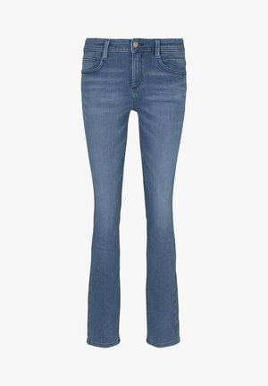 ALEXA - Slim fit jeans - light stone bright blue denim