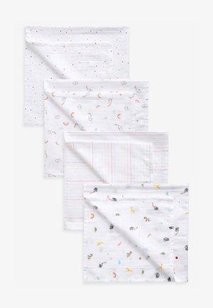 4 PACK   - Baby blanket - white