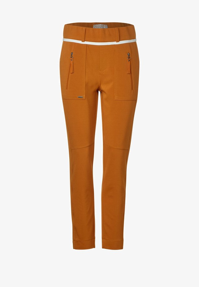 JOGG-STYLE - Trousers - orange