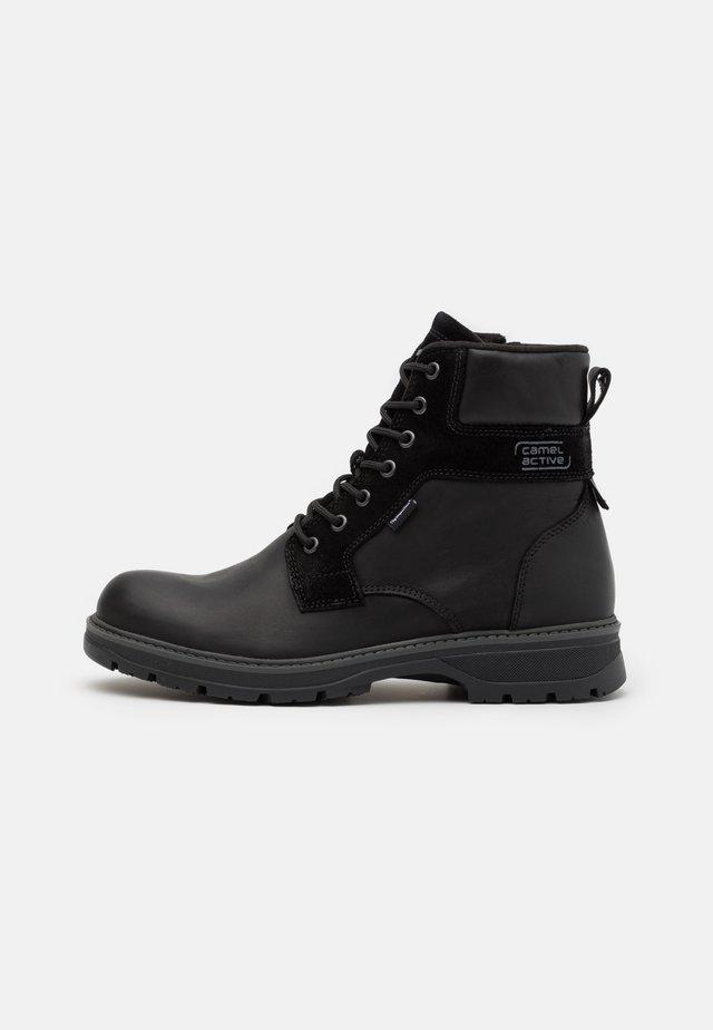 GRAVITY - Zimní obuv - black