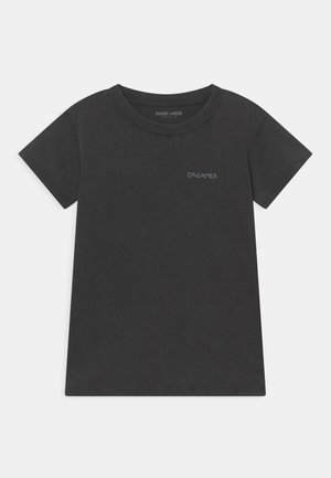 LEON DREAMER TEE UNISEX - T-shirt print - carbon washed