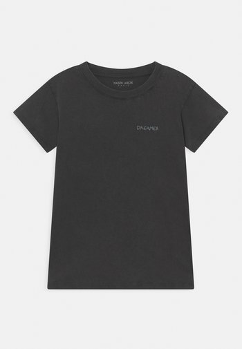 LEON DREAMER TEE UNISEX - Print T-shirt - carbon washed