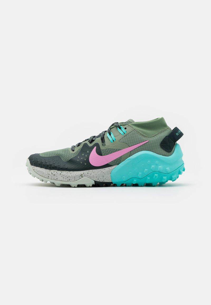Nike Performance - WILDHORSE 6 - Zapatillas de trail running - spiral sage/beyond pink/seaweed/aurora green/light silver