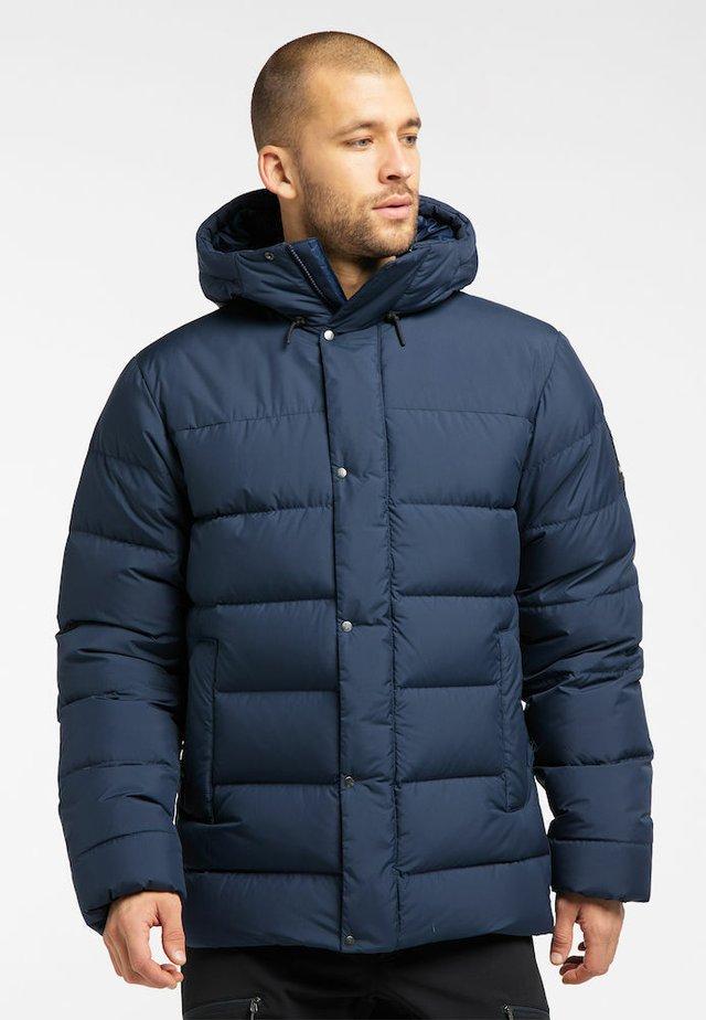 NÄS DOWN JACKET MEN - Down jacket - tarn blue