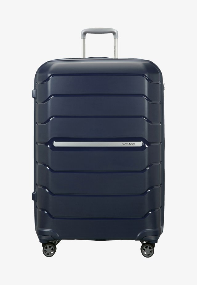 FLUX - Wheeled suitcase - navy blue