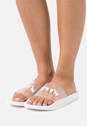 JUNE MONO  - Mules - regular white
