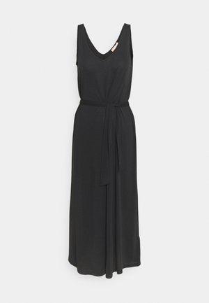 ELLA MIDI TANK DRESS - Day dress - black