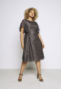 Swing Curve - Cocktail dress / Party dress - grey - 1
