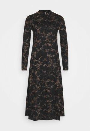 PCSAPPHIRE DRESS - Day dress - black/sunburn