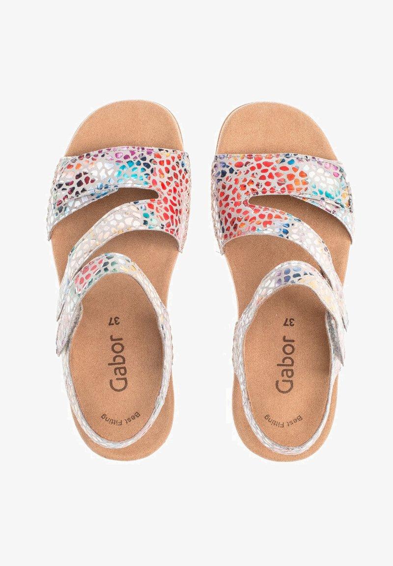Gabor - Wedge sandals - mehrfarbig