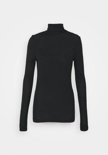 JULIE TURTLENECK - Long sleeved top - soot black
