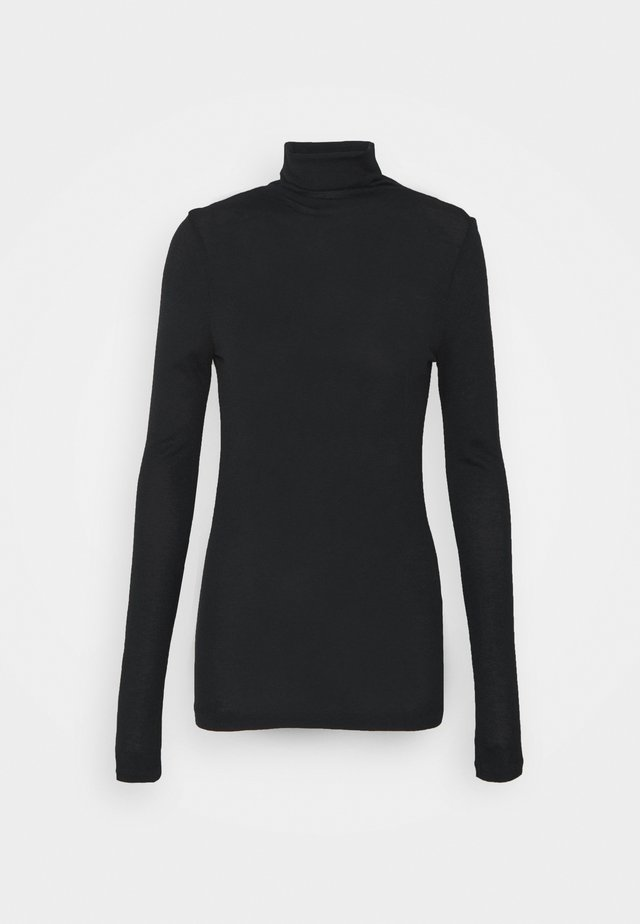 JULIE TURTLENECK - Long sleeved top - soot black