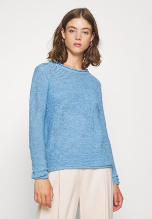 JDYMICHELLE SOLID - Pullover - silver lake blue
