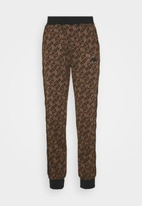 Replay - TROUSERS - Trainingsbroek - brown/black - 3