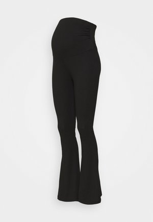 MATERNITY FLARED LEGGINGS - Leggings - Trousers - black