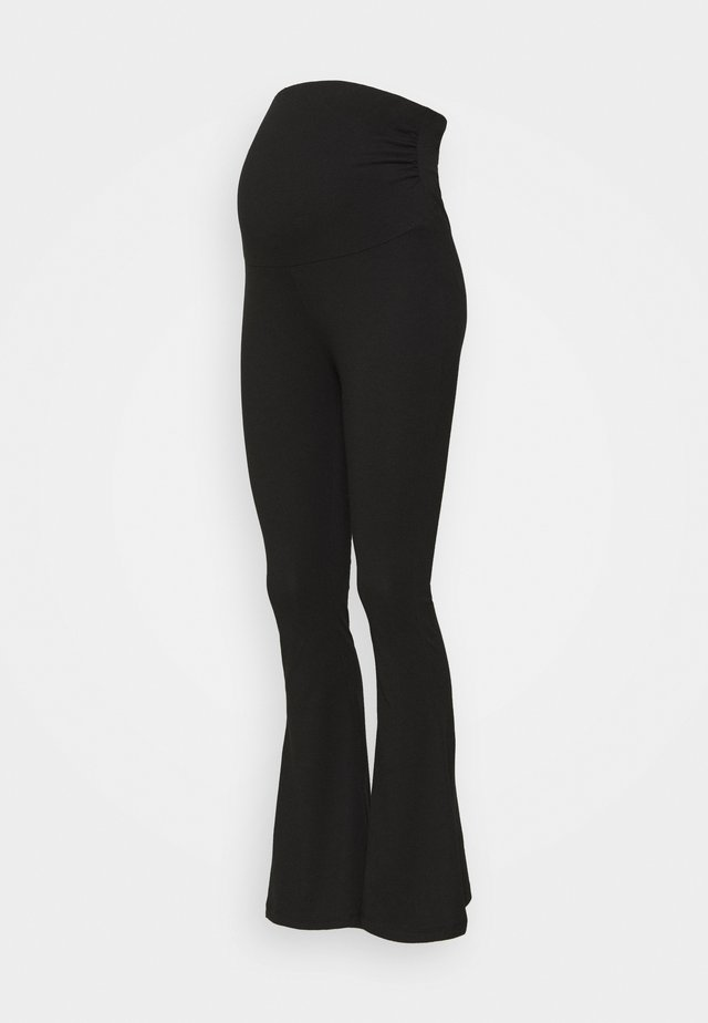 FLARED  - Leggings - black
