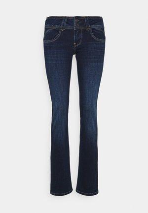 NEW GEN - Jeansy Slim Fit - dark blue denim