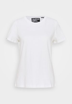 ELITE CREW TEE - T-shirts - white