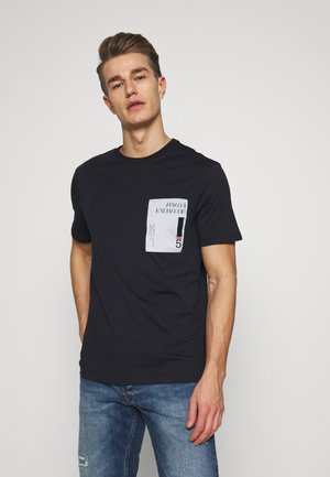 T-shirt imprimé - deep navy