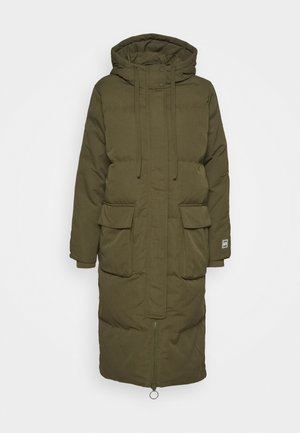 JAC LONG JACKET - Down coat - olive