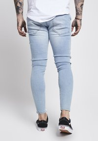SIKSILK - Skinny džíny - light blue - 3