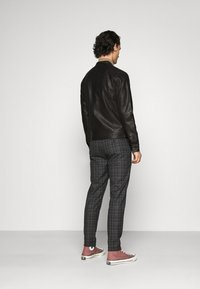 Jack & Jones - JJEWARNER JACKET  - Faux leather jacket - black - 2