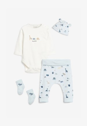 4 PIECE SET  - Leggings - Trousers - blue