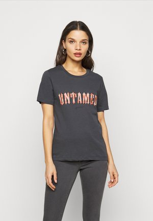 ONLLANA PETIT - Print T-shirt - dark grey