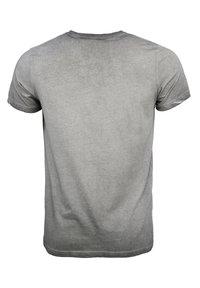 TOP GUN - MIT TOP GUN LOGO EASE - Print T-shirt - grey - 1