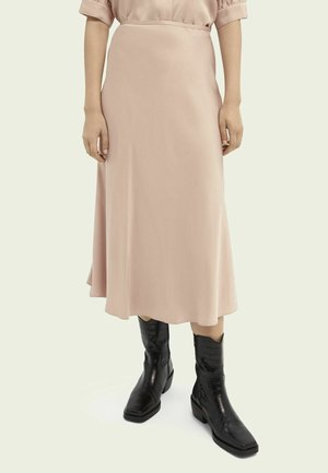 A-line skirt - dusty rose