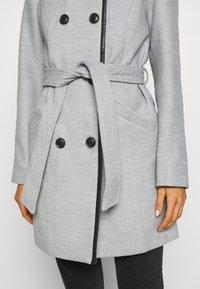 Vero Moda - VMCALAVERONICA  - Zimní kabát - light grey melange - 5
