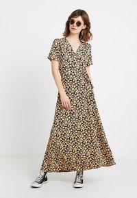 Minimum - ELASTICA DRESS - Maxi dress - navy blazer - 1