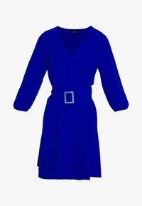 Wallis - V NECK BUCKLE DETAIL SHIFT DRESS - Kjole - cobalt - 4